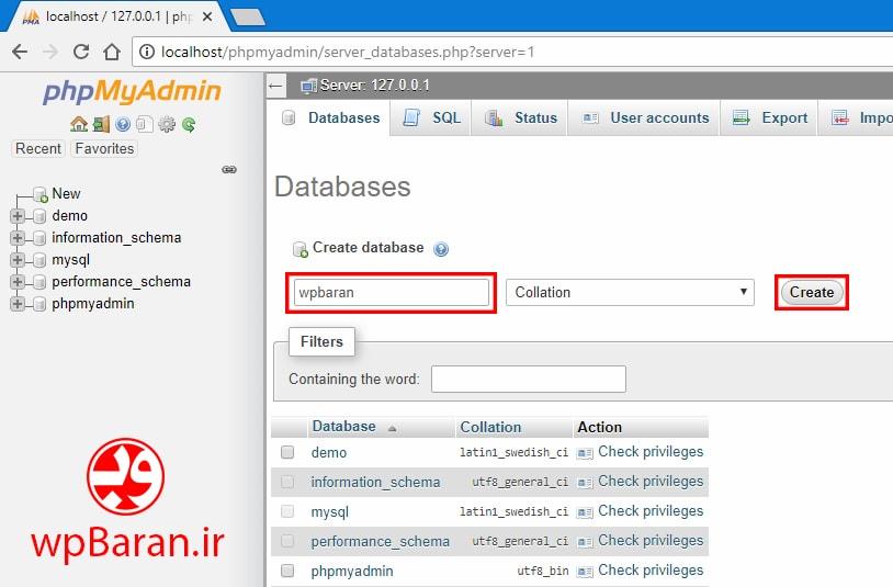 wordpress-installation-tutorial-phpmyadmin-2-wpbaran-ir
