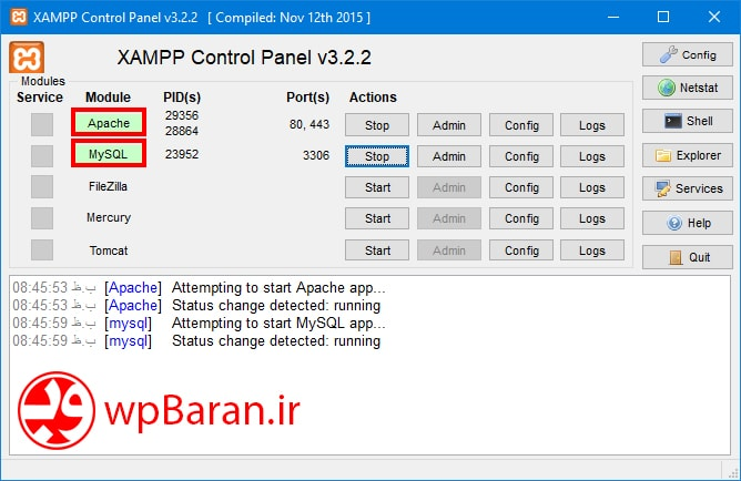 wordpress-localhost-installation-with-xampp-2-wpbaran-ir