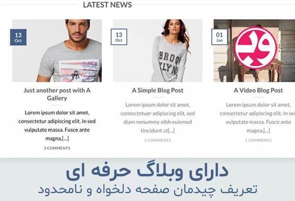 دانلود قالب Flatsome فارسی دانلود قالب فلت سام وردپرس (اورجینال) وبلاگ فروشگاه