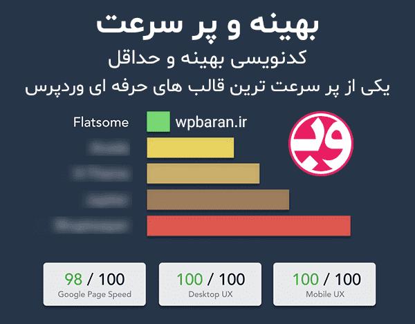 دانلود قالب Flatsome فارسی دانلود قالب فلت سام وردپرس (اورجینال) سرعت بالا